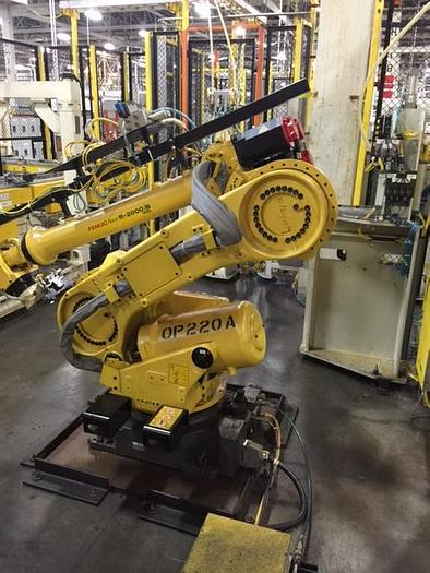 FANUC R-2000IB/125L.'s 6 AXIS ROBOT WITH R-30iA CONTROLS