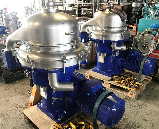 Used Alfa Laval BRPX313 separator for fish and food industry
