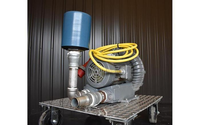 USED FUJI ELECTRIC REGENERATIVE BLOWER, 206 CFM
