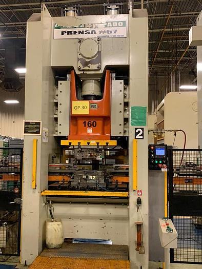 Used 160 ton EMCO SSSC Stamping Press
