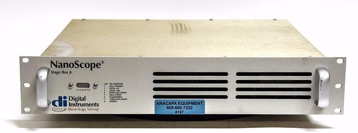 Used Digital Instruments Veeco NanoScope Stage Box Jr. from VX 330 (4167)