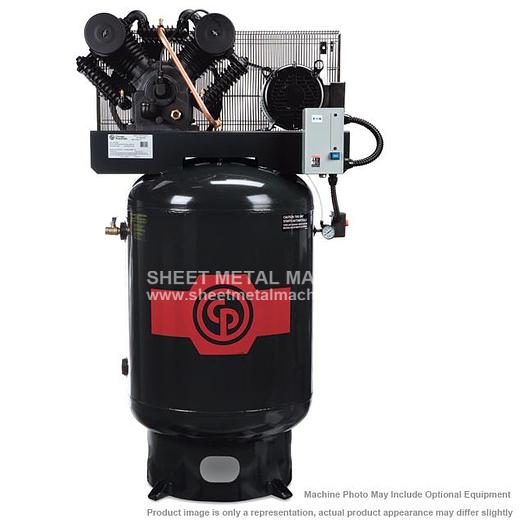 CHICAGO PNEUMATIC 10 HP Premium Piston Air Compressor RCP-C10123V