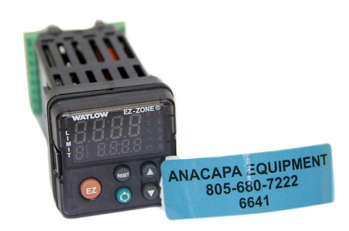 Used Watlow PM6L1EJ-AAAAAAA EZ-Zone Temperature Controller (6641) W