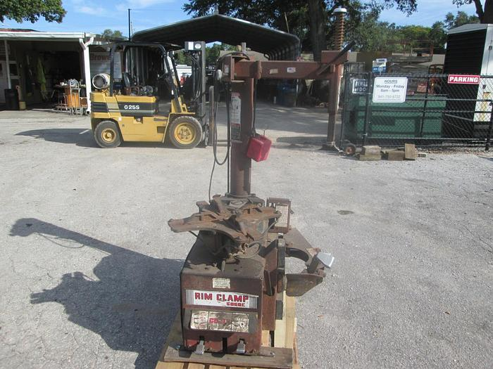 Used Coats 5060E Rim Clamp Tire Changer