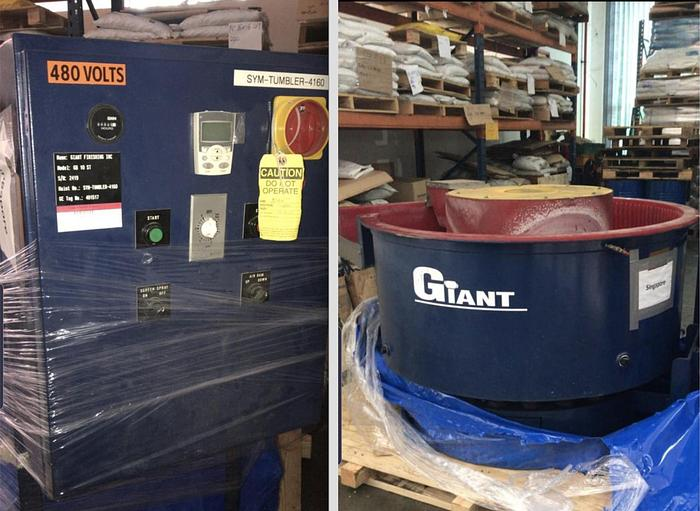 Used Used GIANT Finishing Vibratory Bowl GB10
