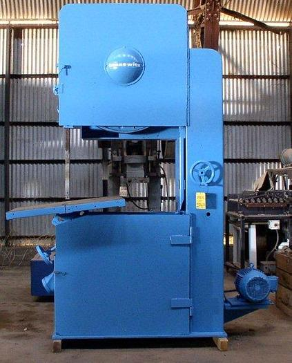 "Used 36"" Tannewitz Model G1N (Left-Hand) Vertical Band Saw; Mfg. 1985; S/N 85086"