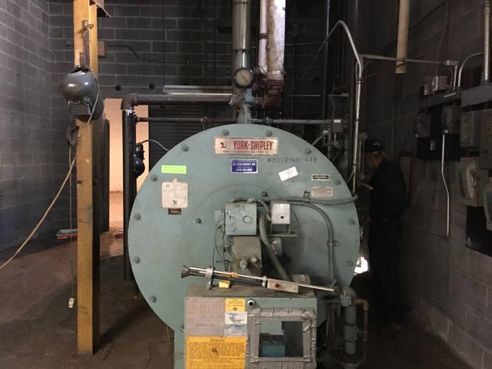 YORK SHIPLEY 50 HP BOILER in New Jersey, USA