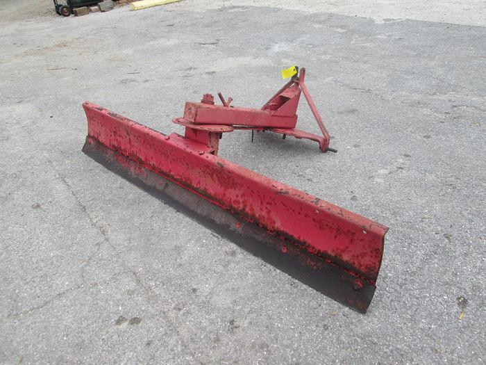 Used 8 Foot 3 Point Hitch Grading Blade