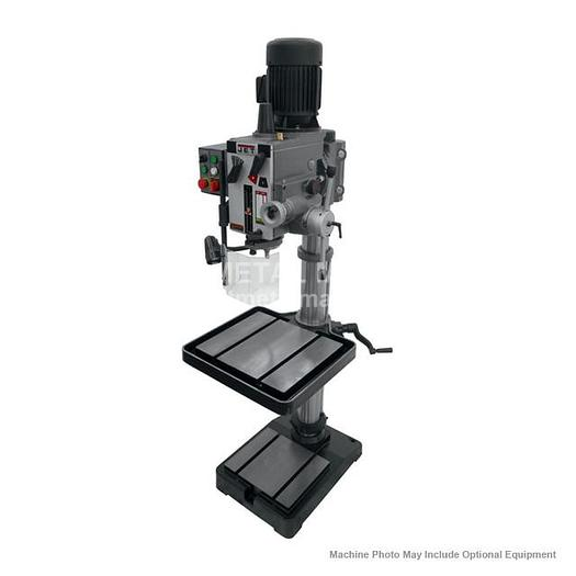 JET GHD-20PFT Gear Head Tapping Drill Press With Power Down feed 230V 3Ph 354026