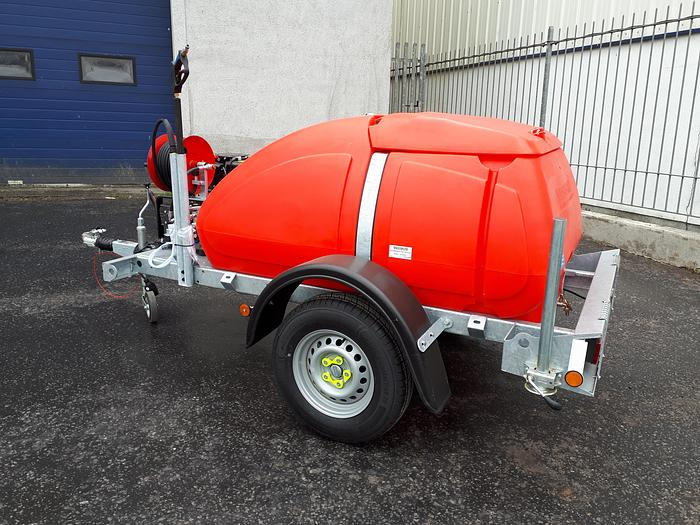 Taskman BW200 DY15E TRAILER BOWSER DIESEL WASHER