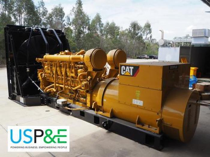 1.82 MW 2011 New Caterpillar 3516B Diesel Generator