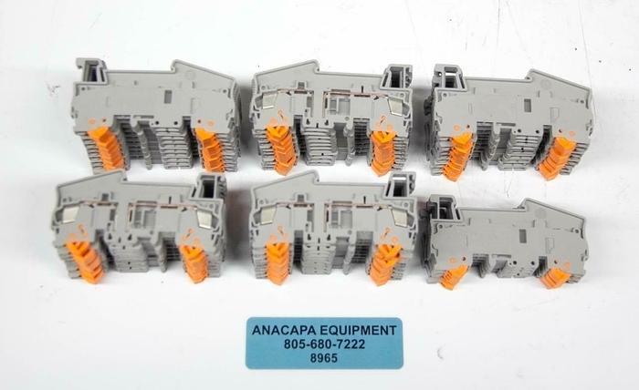 Phoenix Contact QTC1.5 Quick Connect Terminal Block Plug LOT OF 55 NEW (8965)R