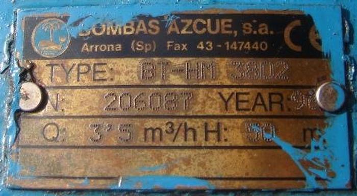 Azcue HFO Booster Pump BT-HM 38D2