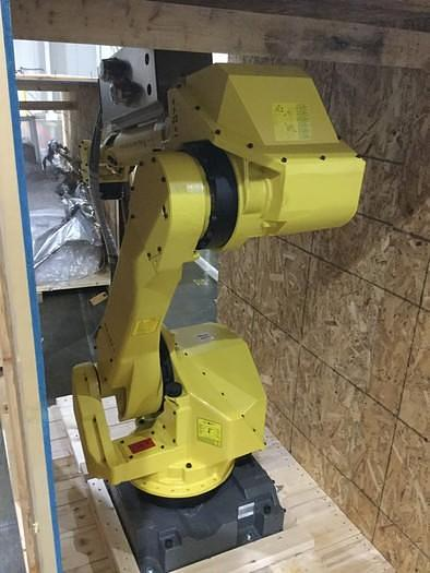 2012 FANUC M-710iC/50 WITH R-30iA CONTROLS WITH CONVEYOR SYSTEM  (NEW NEVER USED)