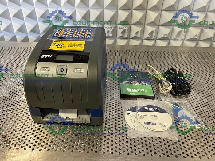 Brady BBP33 Desktop Sign and Label Printer 100-240V
