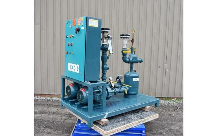 Used USED BERG PUMPING STATION, CARBON STEEL, 2.5 '' INLET & OUTLET