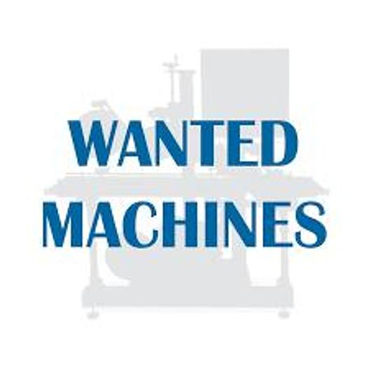 Used WANTED! CNC Machines, Edgebanders, Planers, Sanders, Saws, Shapers, Combination Machines, Dust Collectors, and more.