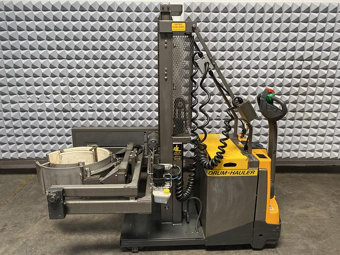 Used 2014 Easy Lift DH80084FCRSP Electric Drum Handling & Lifting Forklift 800LBS Capacity