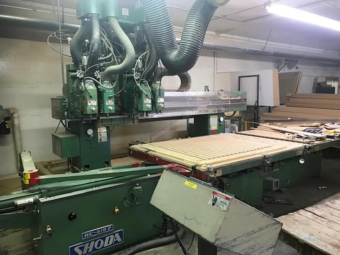 Shoda Twin Table CNC Router