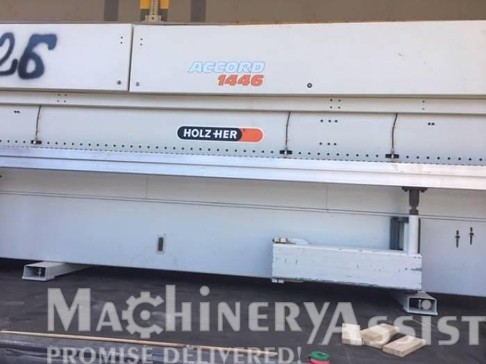 Used 1994 Accord 1446 HOLZ-HER Edgebander