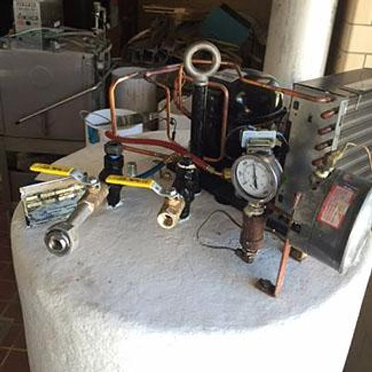 Used 500 Pound Microbulk CO2 Storage Tank