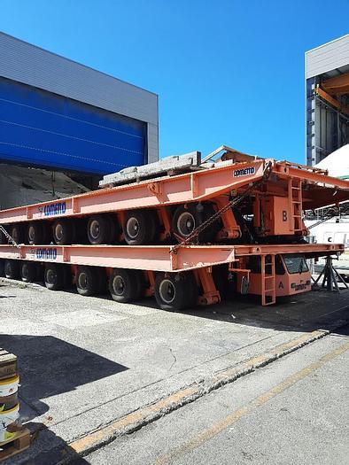 Used Cometto Shipyard Transporter 320 ton Capacity