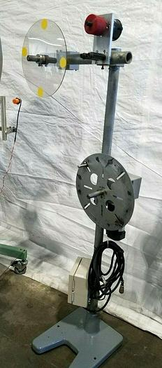 Used Double Stock Reel Paper Inter-Leaf Motorized Material Handling Payoff